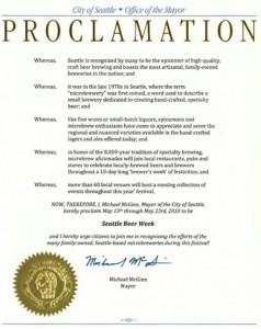 SBW Proclamation